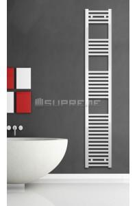 300x1760 mm Hvid Plan Håndklæderadiator