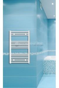 500x800 mm Hvid Plan Håndklæderadiator