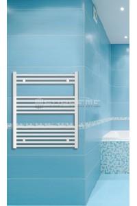 700x800 mm Hvid Plan Håndklæderadiator
