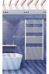 700x1500 mm Hvid Plan Håndklæderadiator