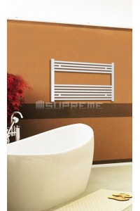 800x600 mm Hvid Plan Håndklæderadiator