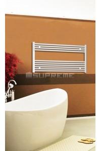 1000x600 mm Hvid Plan Håndklæderadiator