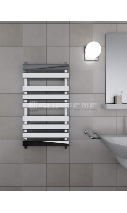 500 x 950 mm Rektangulært Rør Design Håndklæderadiator