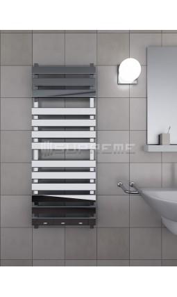 500 x 1300 mm Rektangulært Rør Design Håndklæderadiator