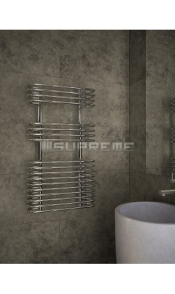 500 x 900 mm Cirkulært Rør Design Håndklæderadiator