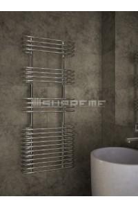 500 x 1200 mm Cirkulært Rør Design Håndklæderadiator
