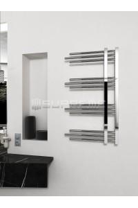 500 x 900 mm Runde Rør Design Håndklæderadiator