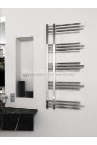 500 x 1200 mm Runde Rør Design Håndklæderadiator