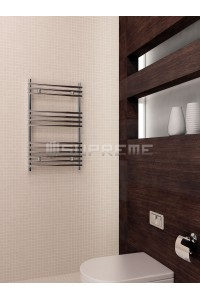 500 x 800 mm Rør På Rør Design Håndklæderadiator