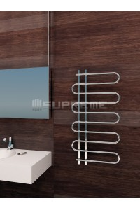 500 x 1000 mm Runde Rør Design Håndklæderadiator