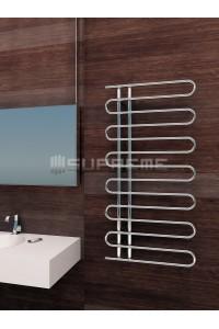 600 x 1200 mm Runde Rør Design Håndklæderadiator