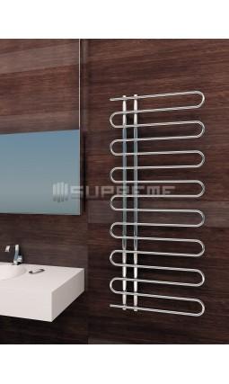 600 x 1400 mm Runde Rør Design Håndklæderadiator