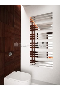 600 x 1400 mm Spejleffekt Design Håndklæderadiator