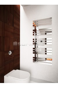 500 x 1200 mm Spejleffekt Design Håndklæderadiator