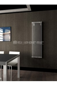400 x 1400 mm Hvid Vertikal Design Radiator