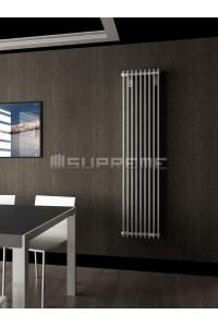 400 x 1700 mm Hvid Vertikal Design Radiator
