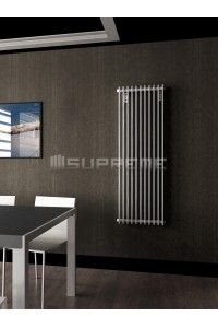 500 x 1400 mm Hvid Vertikal Design Radiator