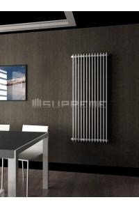 600 x 1400 mm Hvid Vertikal Design Radiator