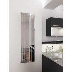 400 x 1400 mm Spejleffekt Krom Design Vertikal Radiator