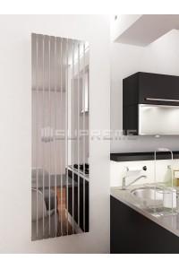 500 x 1700 mm Spejleffekt Krom Vertikal Radiator