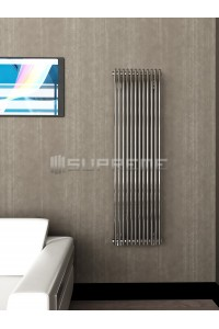 400 x 1400 mm Krom Vertikal Design Radiator