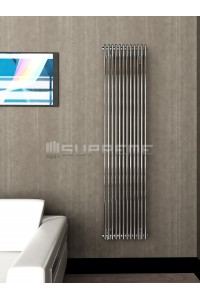 400 x 1700 mm Krom Vertikal Design Radiator
