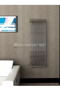500 x 1400 mm Krom Vertikal Design Radiator