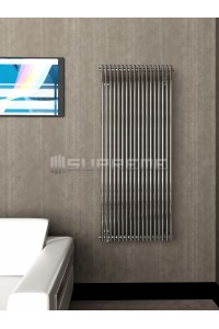 600 x 1400 mm Krom Vertikal Design Radiator