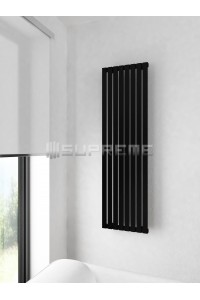400 x 1400 mm Sort Vertikal Design Radiator