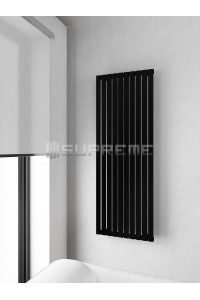 500 x 1400 mm Sort Vertikal Design Radiator
