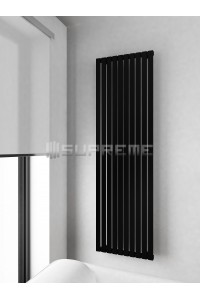 500 x 1700 mm Sort Vertikal Design Radiator