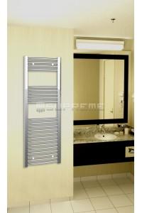 400x1200 mm Krom Oval Håndklæderadiator