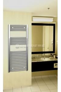 500x1200 mm Krom Oval Håndklæderadiator