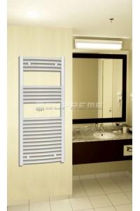 500x1200 mm Hvid Oval Håndklæderadiator