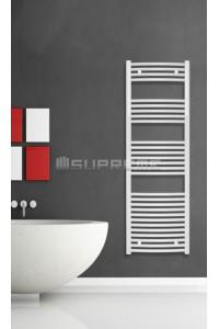 500x1500 mm Hvid Oval Håndklæderadiator