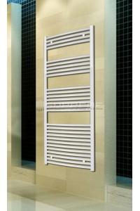 600x1500 mm Hvid Oval Håndklæderadiator