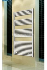 700x1500 mm Hvid Oval Håndklæderadiator
