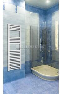 400x1200 mm Hvid Plan Håndklæderadiator