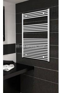 700x1200 mm Hvid Plan Håndklæderadiator