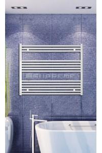 1000x800 mm Hvid Plan Håndklæderadiator