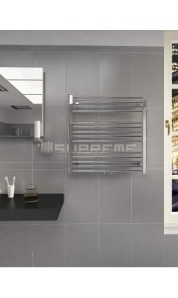 700 x 700 mm Multi Tilslutning Kombi Krom Håndklæderadiator