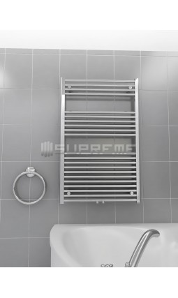 700 x 1100 mm Multi Tilslutning Kombi Krom Håndklæderadiator