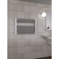 800 x 600 mm Multi Tilslutning Kombi Krom Håndklæderadiator