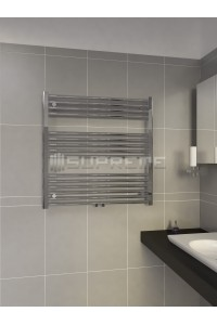 800 x 800 mm Multi Tilslutning Kombi Krom Håndklæderadiator