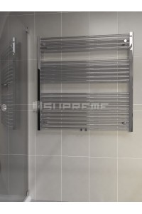 1000 x 1000 mm Multi Tilslutning Kombi Krom Håndklæderadiator