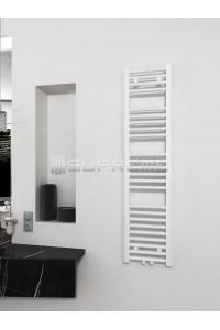300 x 1200 mm Multi Tilslutning Kombi Hvid Håndklæderadiator
