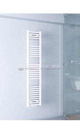 300 x 1500 mm Multi Tilslutning Kombi Hvid Håndklæderadiator