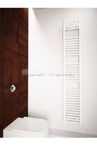 300 x 1700 mm Multi Tilslutning Kombi Hvid Håndklæderadiator