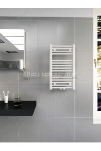 400 x 700 mm Multi Tilslutning Kombi Hvid Håndklæderadiator