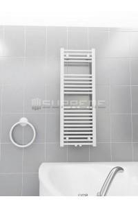 400 x 1100 mm Multi Tilslutning Kombi Hvid Håndklæderadiator